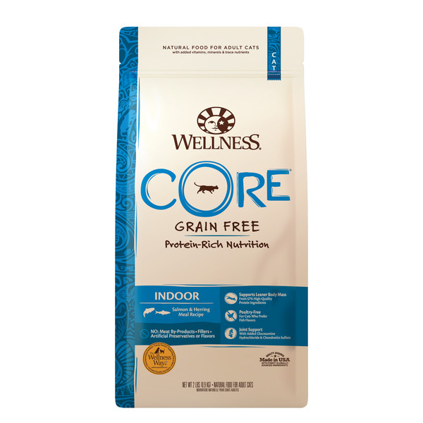 Wellness(貓)CORE無穀-室內貓頂級深海食譜2lb
