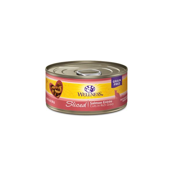 全方位肉條貓主食罐鮭魚156g