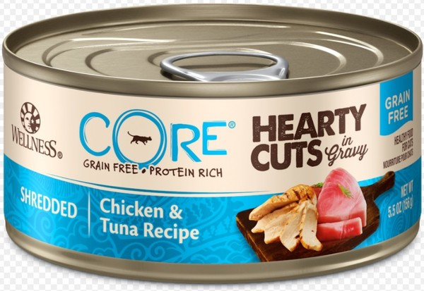 CORE無穀系列厚切肉片主食貓罐雞肉+鮪魚156g
