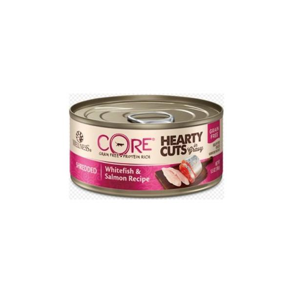 CORE無穀系列厚切肉片主食貓罐鮭魚+火雞肉156g