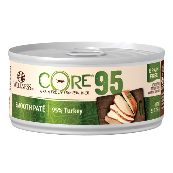 CORE無穀系列95%主食貓罐火雞肉156g