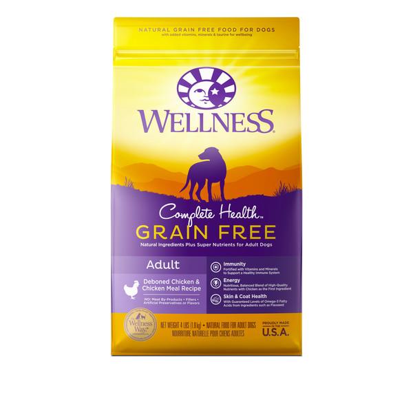 Wellness(犬)全方位無穀-成犬去骨雞肉4lb