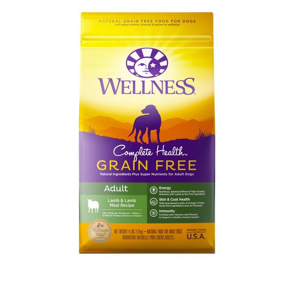 Wellness(犬)全方位無穀-成犬羊肉4lb