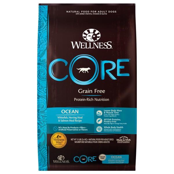 【即期促銷】Wellness(犬)CORE無穀成犬低敏頂級深海4lb
