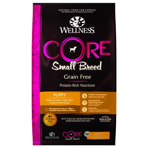 【即期促銷】Wellness(犬)CORE無穀小型幼犬聰明活力食譜4lb