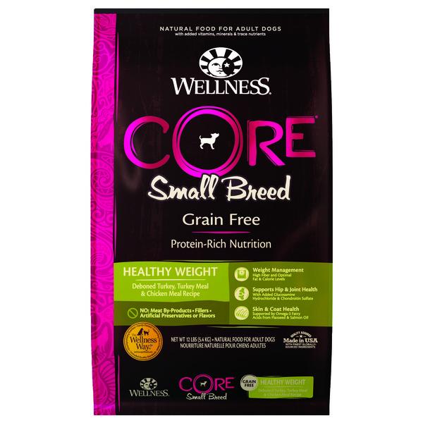 【即期促銷】Wellness(犬)CORE無穀小型成犬體重管理食譜12lb