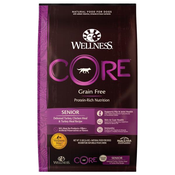 Wellness(犬)CORE無穀-熟齡犬特調照護食譜4lb