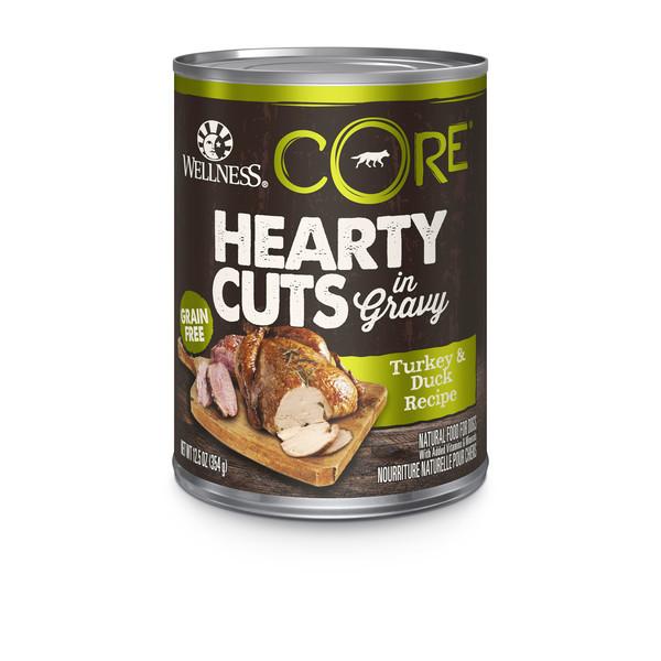 【Wellness】CORE無穀系列厚切肉片主食狗罐 354g 共3種口味