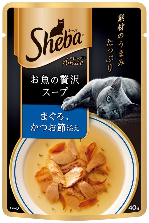 SHEBA日式鮮饌包(黑金邊)雙鮮高湯(蟹肉+鮭魚) 40g