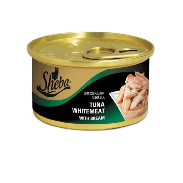 SHEBA金罐-白身鮪魚(魚凍)85g-罐