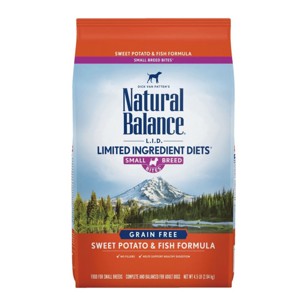 【Natural Balance】低敏無榖地瓜鮭魚成犬配方 小顆粒4.5lb/原顆粒4.5lb  13lb