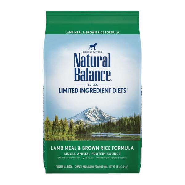 【Natural Balance】低敏羊肉糙米全犬配方 小顆粒4.5lb/原顆粒4.5lb  14lb
