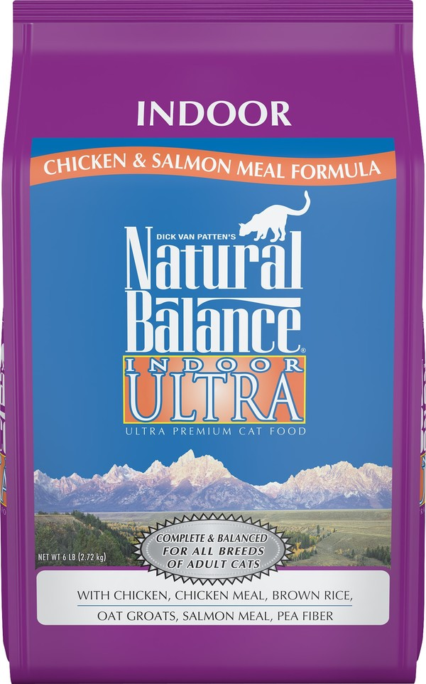 【Natural Balance】特級室內貓調理配方6lb