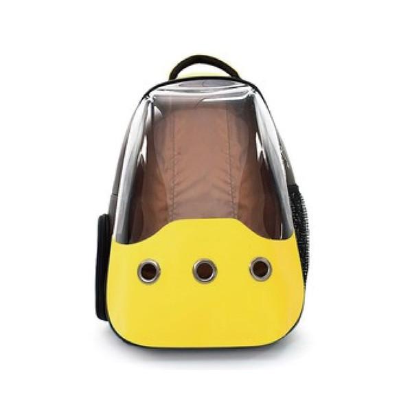 【菲尼斯】都會泡泡包-全景式後背包(黃色/棕色)
