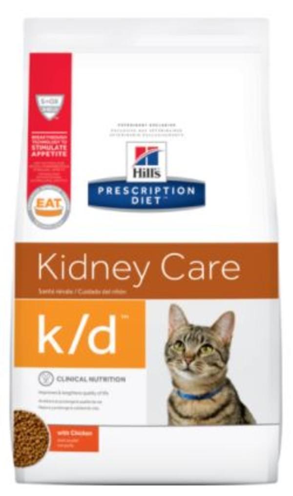 【Hill's 希爾思】 貓處方k/d腎臟護理4磅/8.5磅0052742302034 0052742302072
