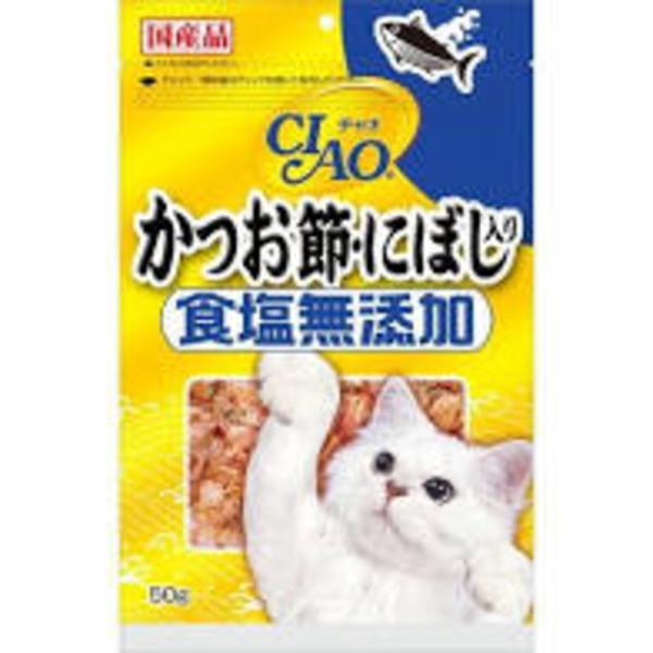 【即期促銷】CIAO-食鹽未添加柴魚片點心(沙丁魚)50g