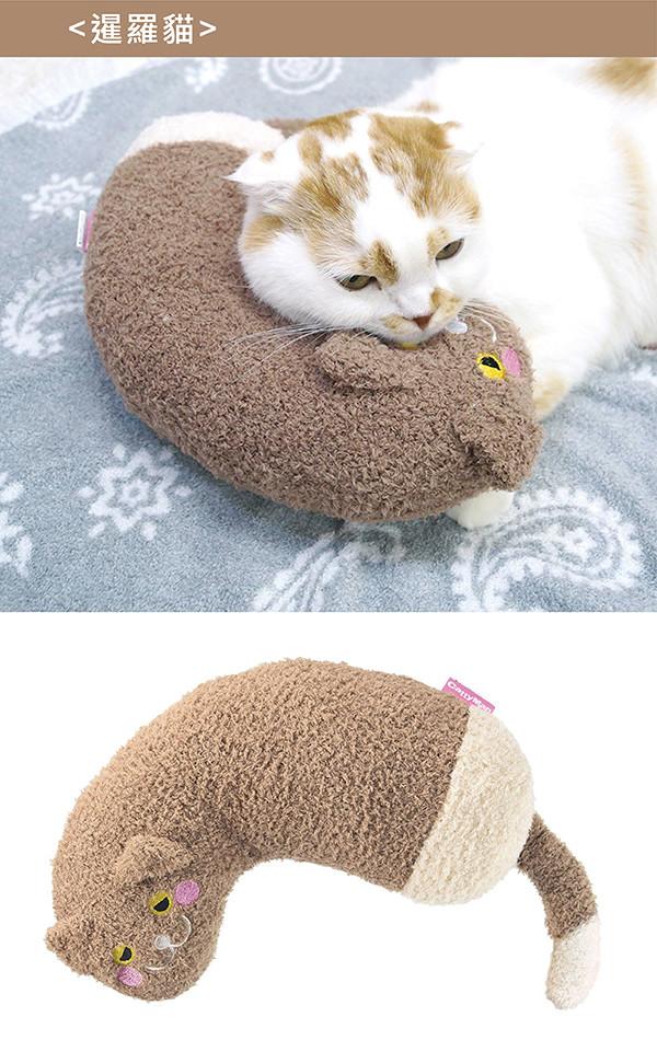 【CattyMan】貓用溫馨舒適造型枕-牛奶喵/巧克力喵/奶茶喵