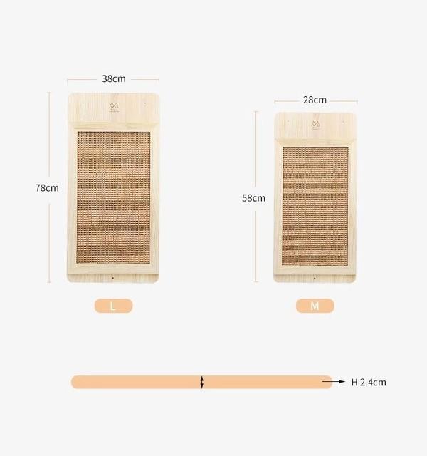 (E)木製搓衣板造型貓抓板(28*58cm)