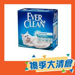 【EVER-CLEAN藍鑽】美規白粗砂(無香)25LB