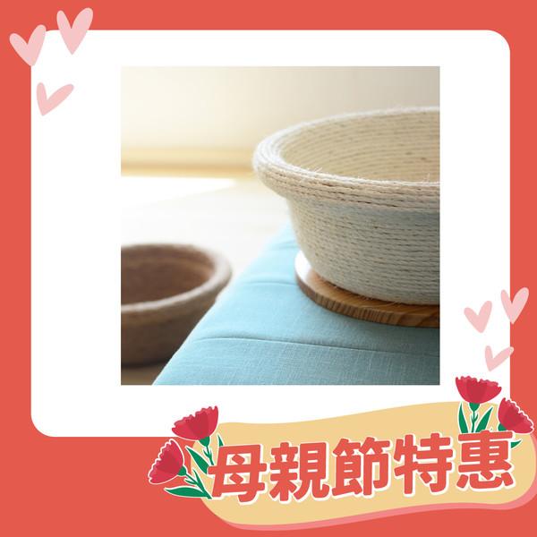 【喵仙兒】愛玩耍寵物坐盆含底座(咖啡色)40*40cm