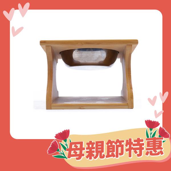 【喵仙兒】竹木簡約餐桌造型(單碗組/雙碗組/三碗組)