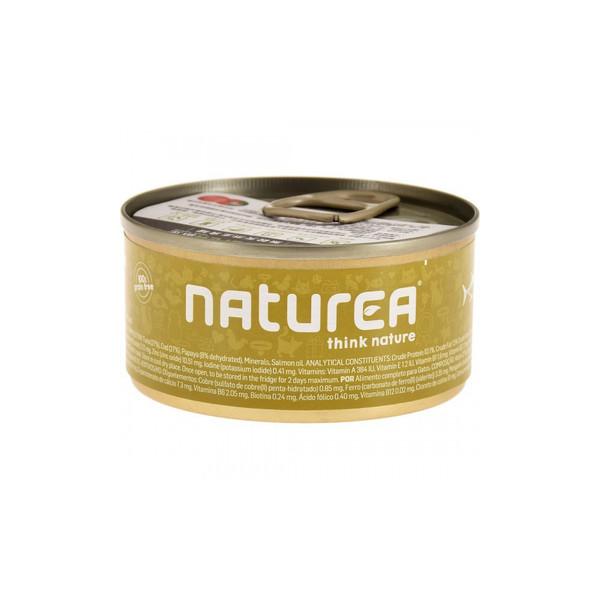 Naturea歐金天然無穀物貓主食罐(鮪魚+木瓜)85g