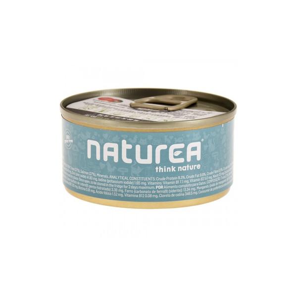 Naturea歐金天然無穀物貓主食罐(鱒魚+鮭魚)85g