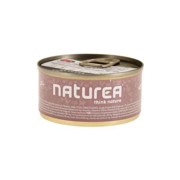 Naturea歐金天然無穀物貓主食罐(太平洋白魚+蘋果)85g