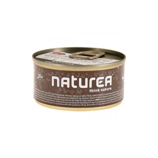 Naturea歐金天然無穀物貓主食罐(鱈魚+無花果)85g