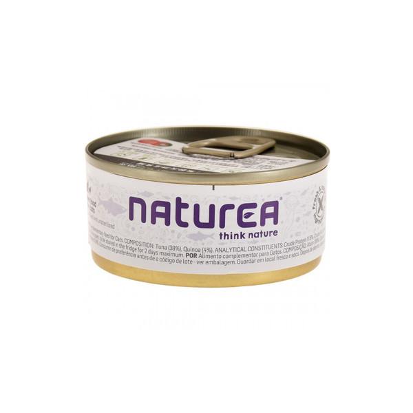 Naturea歐金天然無穀物貓主食罐(鮪魚+藜麥)70g