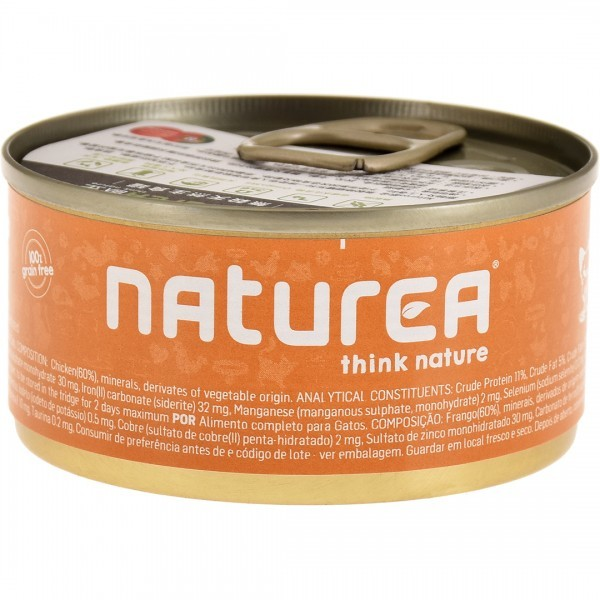 Naturea歐金 天然無穀物貓主食罐85g-共9種口味