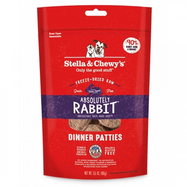 186011000892唯鮮寵糧-冷凍乾燥犬用肉餅生食餐(兔肉)