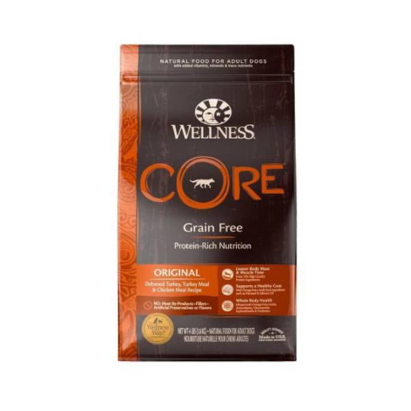 Wellness(犬)CORE無穀成犬低敏經典美味-12lb