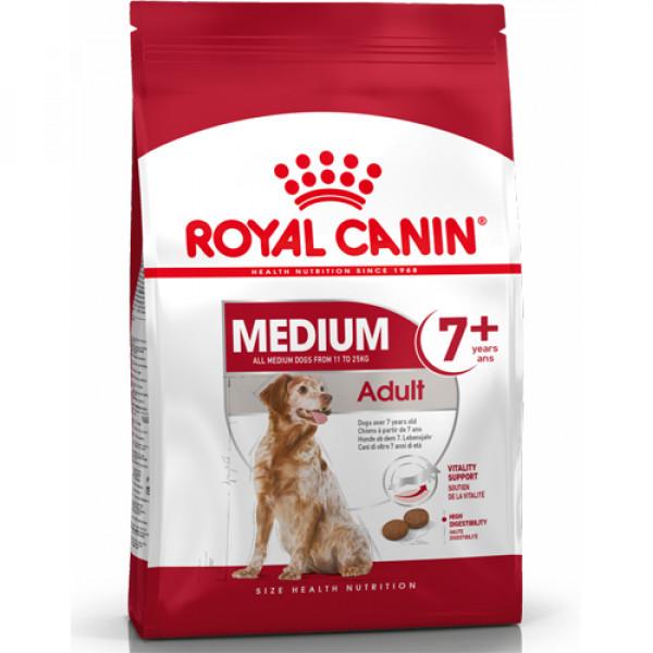 【法國皇家 ROYAL CANIN】SHN皇家中型熟齡犬7+歲齡 M+7 (4KG)