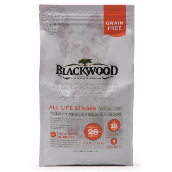BLACKWOOD 柏萊富 無穀全齡 低敏挑嘴配方(鮭魚+豌豆)15lb