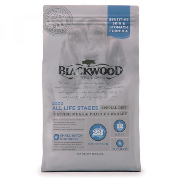 BLACKWOOD 柏萊富 功能性全齡 滋補養生配方(鯰魚+珍珠麥)15lb