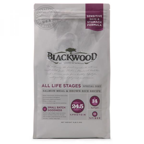 BLACKWOOD 柏萊富 功能性全齡 腸胃保健配方(鮭魚+糙米)15lb