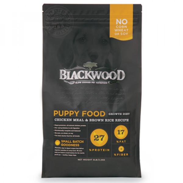 BLACKWOOD 柏萊富 特調幼犬成長配方(雞肉+糙米)15lb