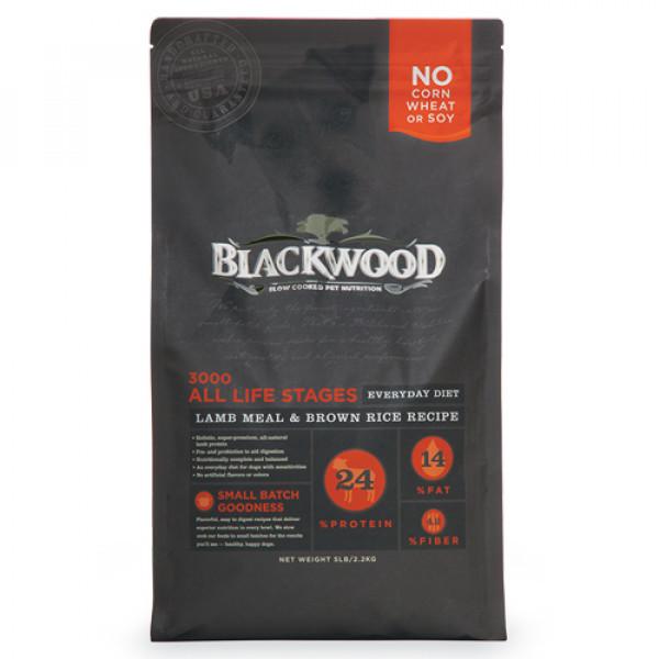 BLACKWOOD 柏萊富 特調全齡犬配方(羊肉+糙米+雞肉)15lb