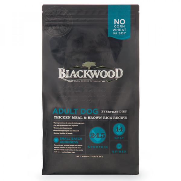 BLACKWOOD 柏萊富 特調成犬活力配方(雞肉+糙米)5lb/15lb