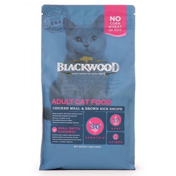 BLACKWOOD 柏萊富 特調成貓亮毛配方(雞肉+糙米)13.23lb