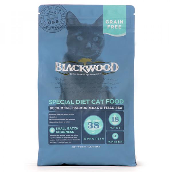 BLACKWOOD 柏萊富 特調無穀 全齡貓配方13.23lb-(鴨肉+鮭魚+豌豆)/(雞肉+豌豆)