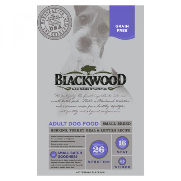 BLACKWOOD 柏萊富 極鮮無穀 小型成犬均衡配方(鯡魚+火雞肉+扁豆)15lb