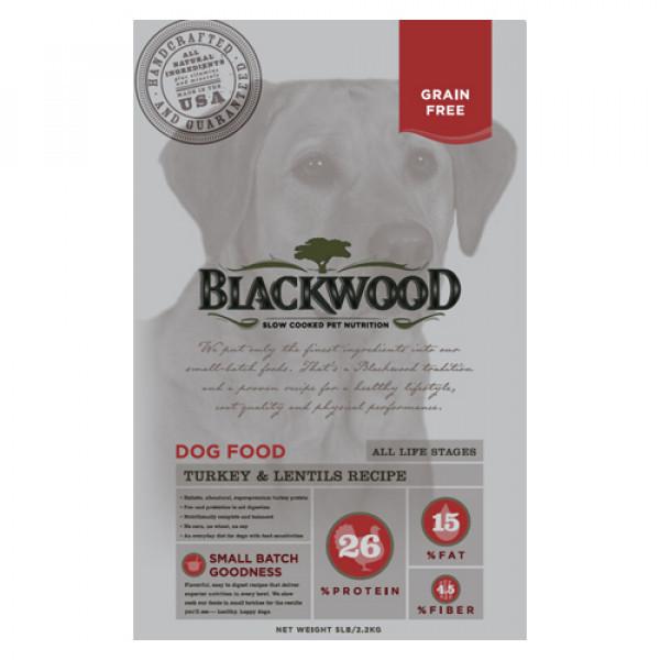 BLACKWOOD 柏萊富 極鮮無穀 全齡 活力配方(火雞肉+扁豆)15lb