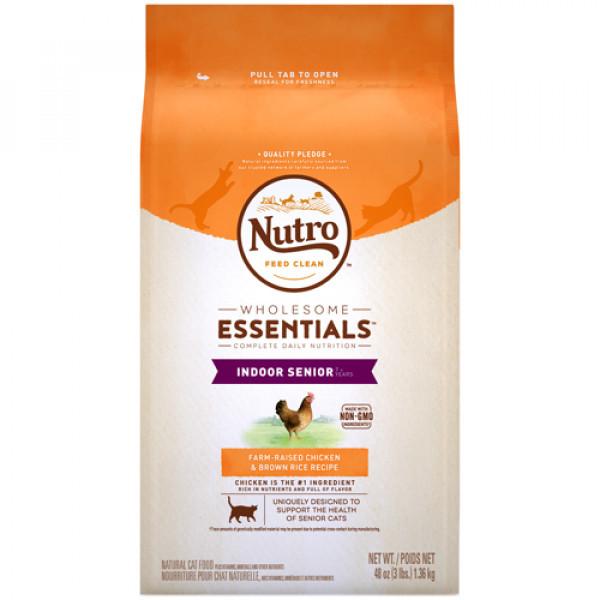 Nutro 美士全護營養 熟齡貓配方 (農場鮮雞+糙米)14磅