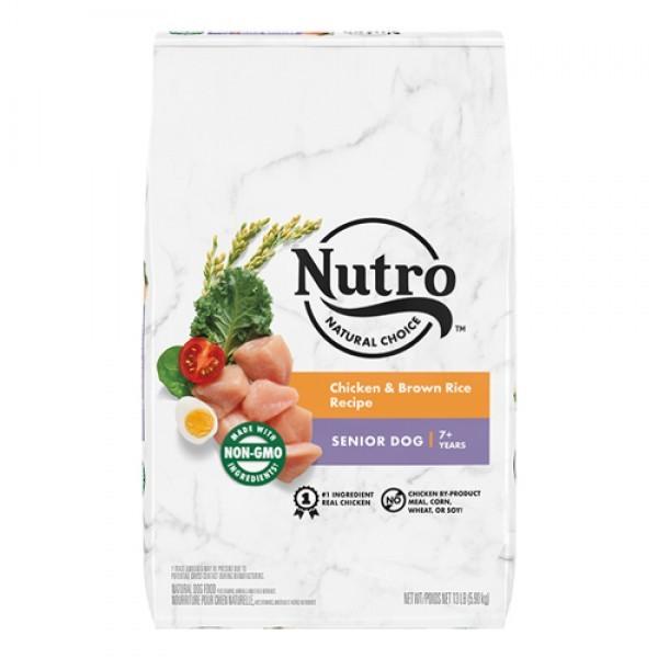 Nutro 美士全護營養 高齡犬配方 (農場鮮雞+糙米)30磅