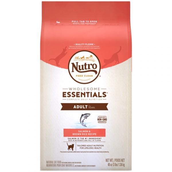 Nutro 美士全護營養 特級成貓配方 (特級鮭魚+糙米)14磅