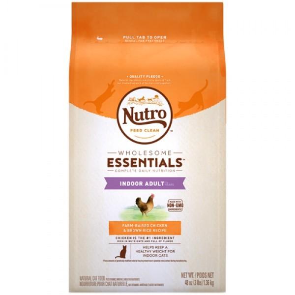Nutro 美士全護營養 室內貓成貓配方 (農場鮮雞+糙米)14磅