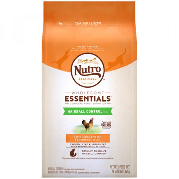 Nutro 美士全護營養 成貓有效化毛配方 (農場鮮雞+糙米)14磅