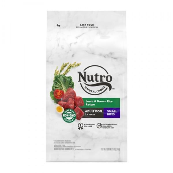 Nutro美士全護營養成犬配方小顆粒(牧場小羊+糙米)30磅
